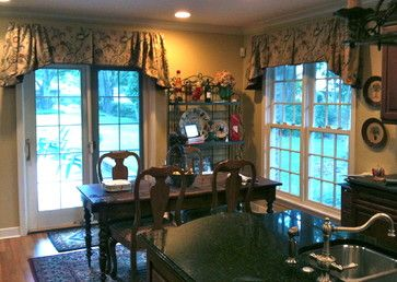 country window treatment ideas | French Country - mediterranean - window treatments - by Curtain Pros