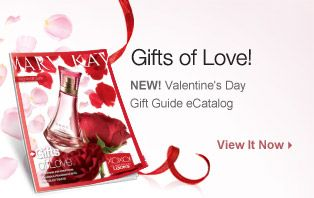 Mary Kay Valentine's Day Gift Guide   The Glamorous Anytime Look is absolutely GORGEOUS!!!  (Page 28-29)