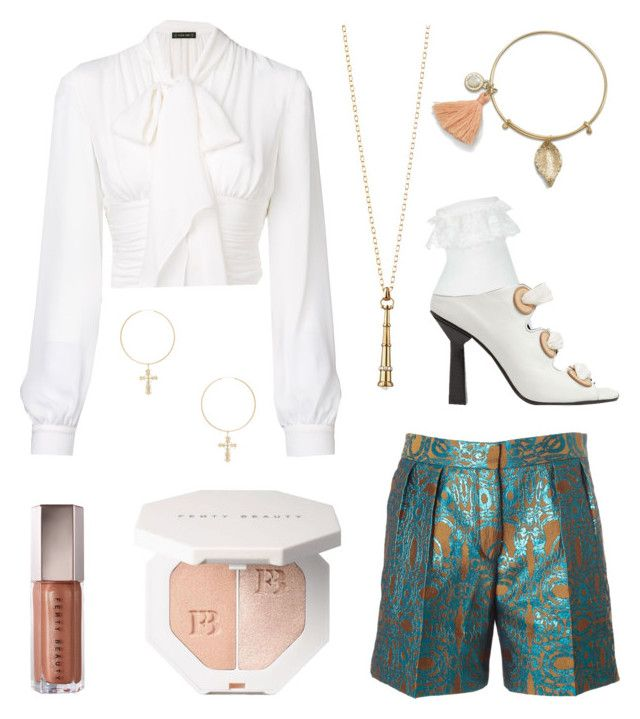 """The Modern Pirate"" by justmediocrecontent on Polyvore featuring Plein Sud, Dries Van Noten, Miss Selfridge, J.W. Anderson, ERTH, Monica Rich Kosann and modern"
