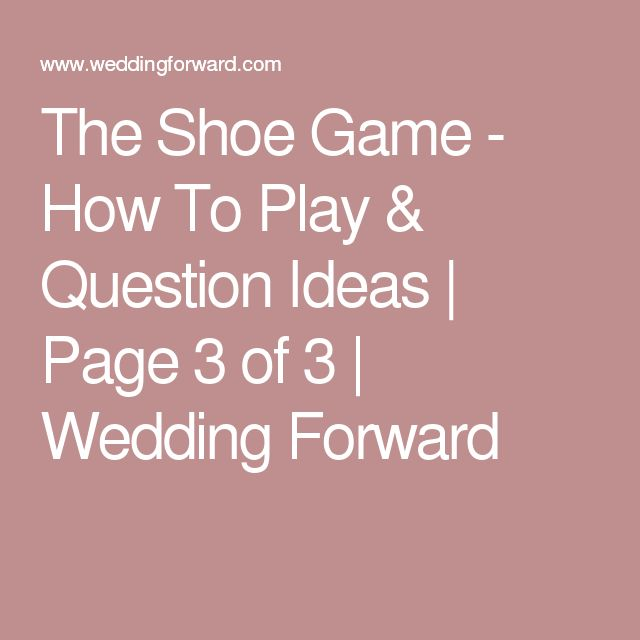 1000 Ideas About Shoe Game Questions On Pinterest