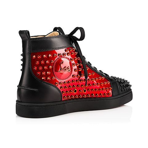 louboutin sneakers homme rouge