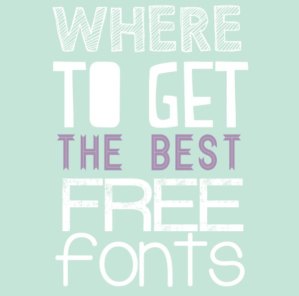 Where To Find Fonts