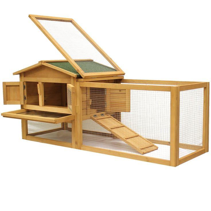 les 25 meilleures id es de la cat gorie clapiers sur pinterest lapin clapier lapins et. Black Bedroom Furniture Sets. Home Design Ideas
