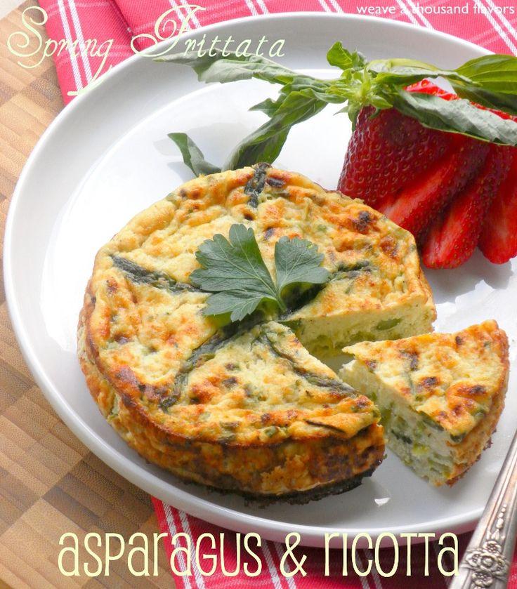 Oven Baked Ricotta & Asparagus Frittata | Dinner: I want ...