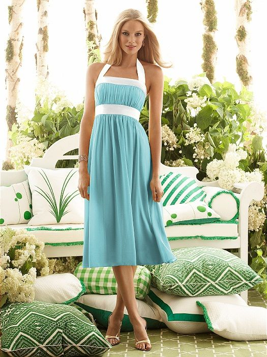 really cute -- you can change the dress color and the trim to what ever you want!  Plus it looks like a dress that is forgiving for any beautiful woman's shape!