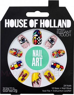 House Of Holland Nails By Elegant Touch - NAIL ART #nailart #hoh #madamemadeline
