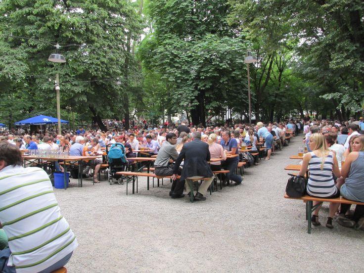 Augustiner Bier Garden - July 2013