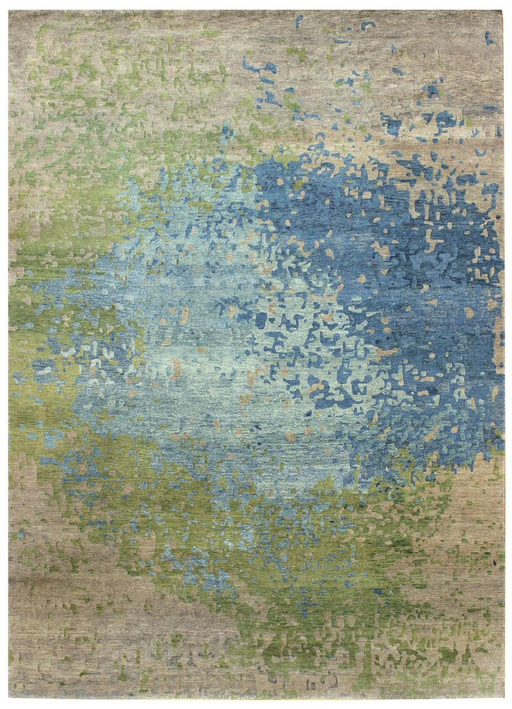 Prize-Winning Modern Rugs Gallery: Modern Textural Rug, Whirlwind, Beige, When inquiring about this design, please indicate what size interests you.