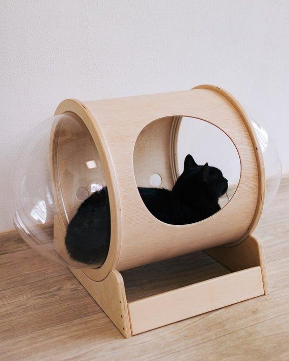 Cat Bed Small Cat Bed Cat House Indoor Big Cat Bed Cat Play House Wooden Cat House Cat Bed Cat House Cat Gift House Fo Cat Bed Luxury Cat Bed Cat