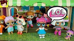 Un Dia en la vida de Muñecas L.O.L Sorpresa - Historias con Bebes y Juguetes de Calico Critters - YouTube