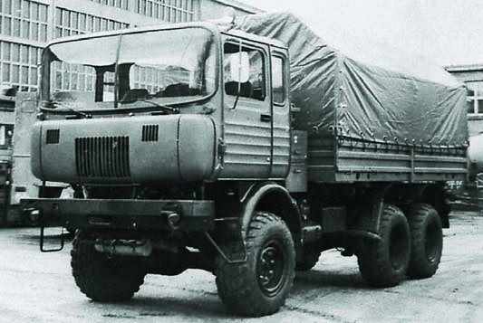 Ifa Truck Pics Hd: 1975 IFA-Robur Prototype Truck, 6x6