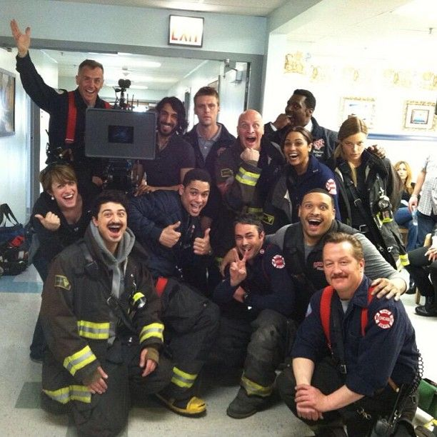 Chicago Fire cast & crew, love this show