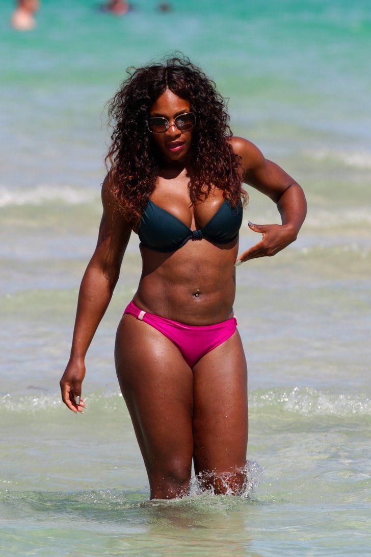 17 Times Serena Williams Showed Off Her Powerhouse Body in a Bikini