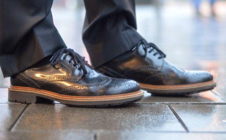 Robust brogue shoes for men - Stoere brogue schoenen voor mannen