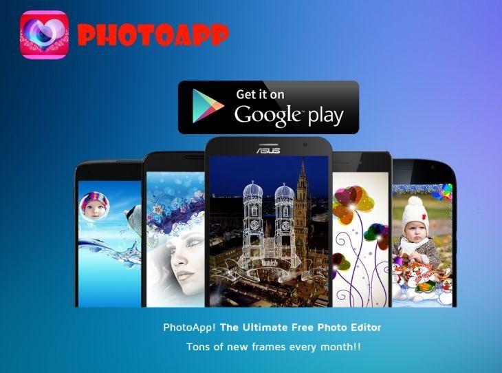 Lee PhotoApp Photo Frames, para editar fotos con múltiples marcos a elegir [Android]