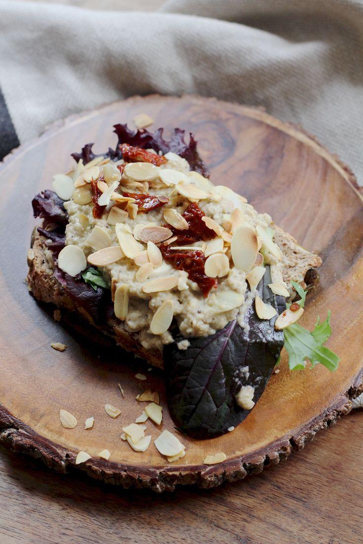 Baba Ganoush - een makkelijk, goedkoop en gezond veganistisch recept.