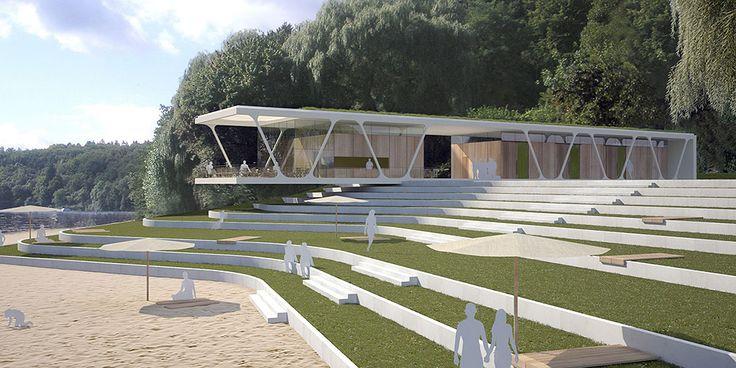 Neugestaltung Strandbad Twistesee, Bad Arolsen - pape + pape architekten Kassel