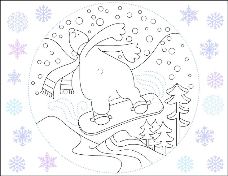 Nicole's Free Coloring Pages Polar Bear Coloring pages