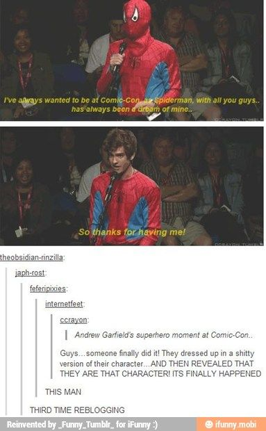 I don't really like anything of Spiderman but that's awesome