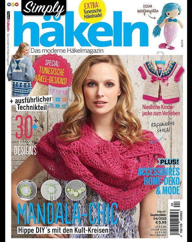 Simply Häkeln 4/2015 incl. tunesische Häkelnadel made by Lieblingsmaschen via DaWanda.com