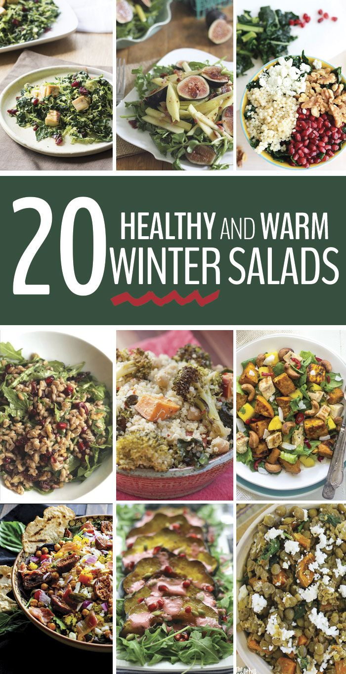27 best winter salads images on pinterest easy thanksgiving side here are 20 healthy warm winter salads that will keep you healthy full and out forumfinder Images