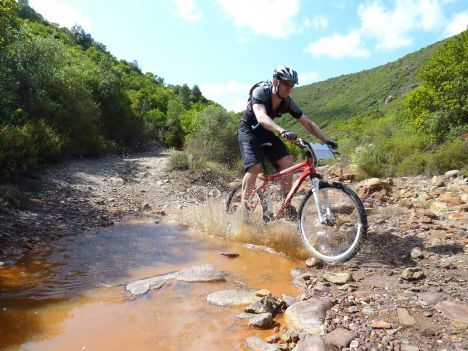 Coast to Coast mountain bike holiday in Sardinia, Italy