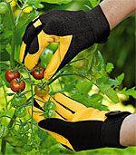 Gold Leaf gardening gloves