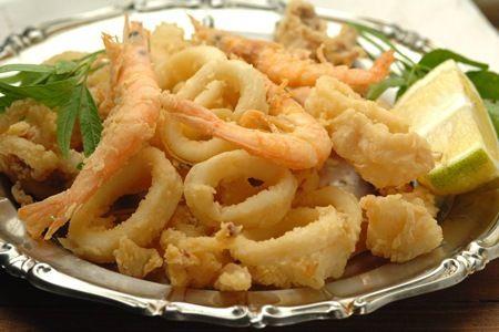 Frittura Di Calamari e Gamberi: Ricetta Siciliana