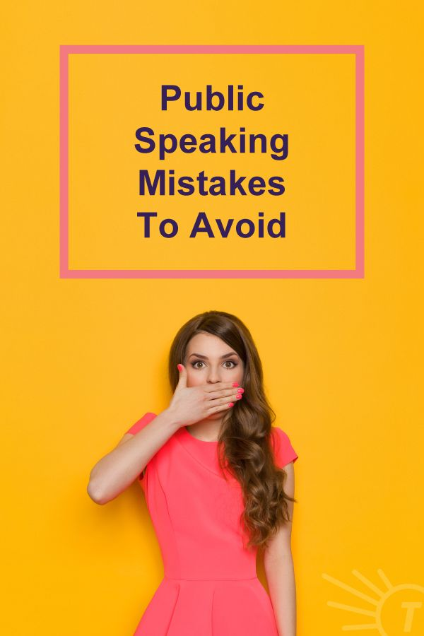 the best  and worst  things to say while public speaking