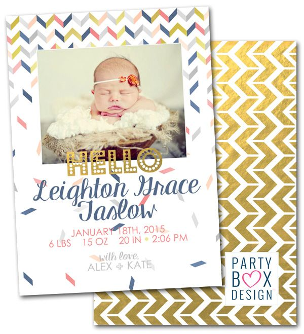 29 best Birth Announcements images – Baby Announcement Party