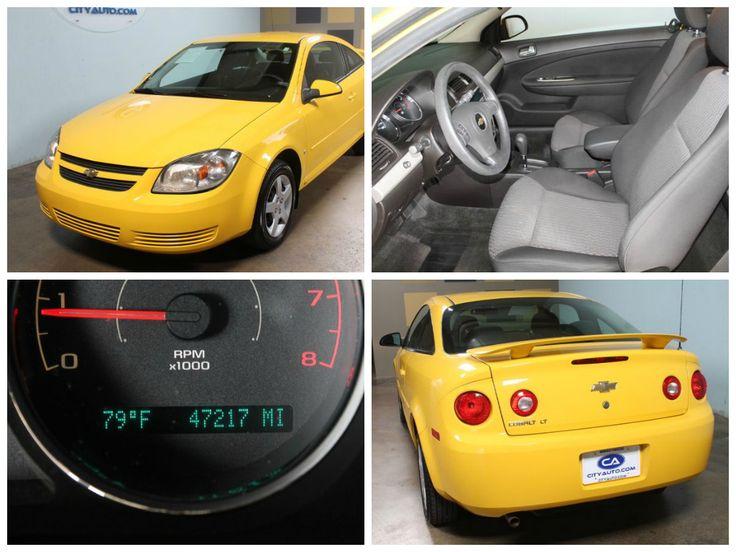 #VEHICLESPOTLIGHT: 2008 #Chevrolet Cobalt LT, Bright #Yellow. See this car and more like it at: CityAuto.com
