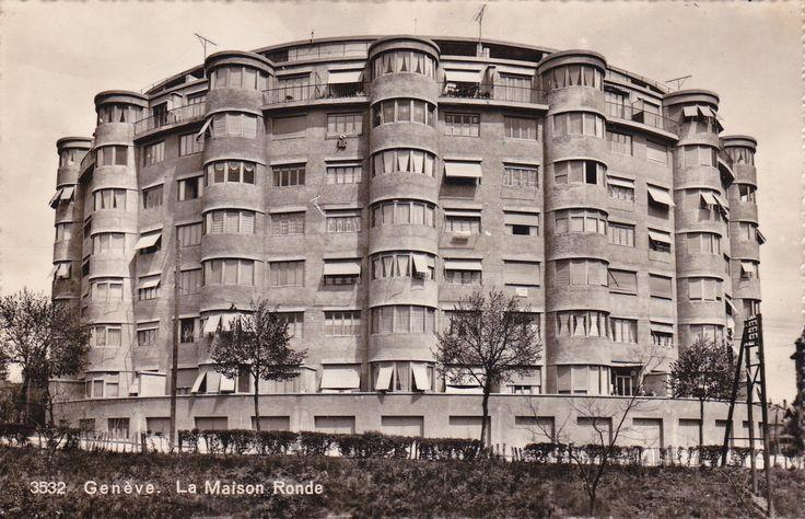 Geneve. La Maison Ronde  Maurice Braillard