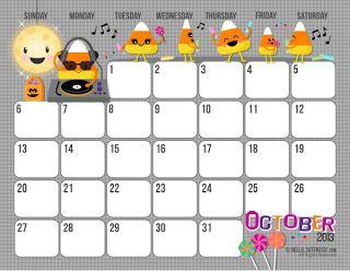 Free Printable 2013 Calendar For Kids
