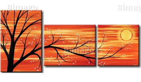 Cuadro decorativo Árbol florido