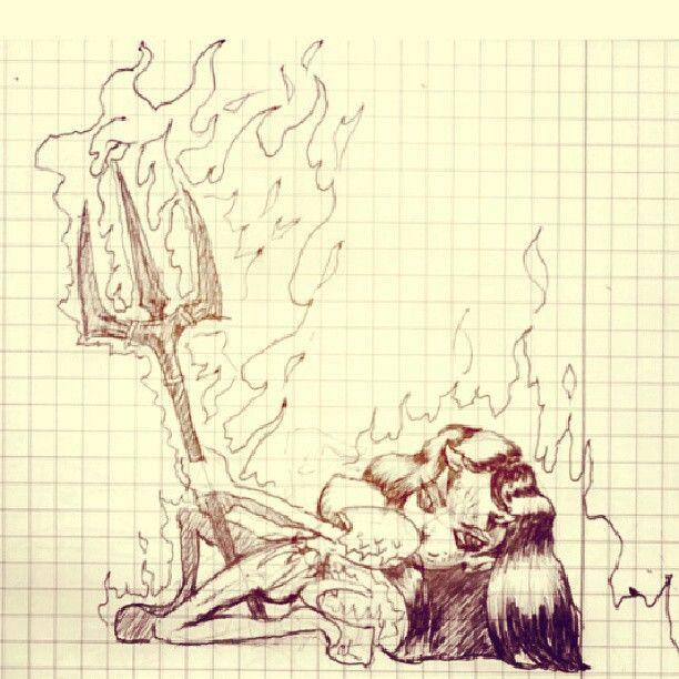 """Hellgirl"" character concept"
