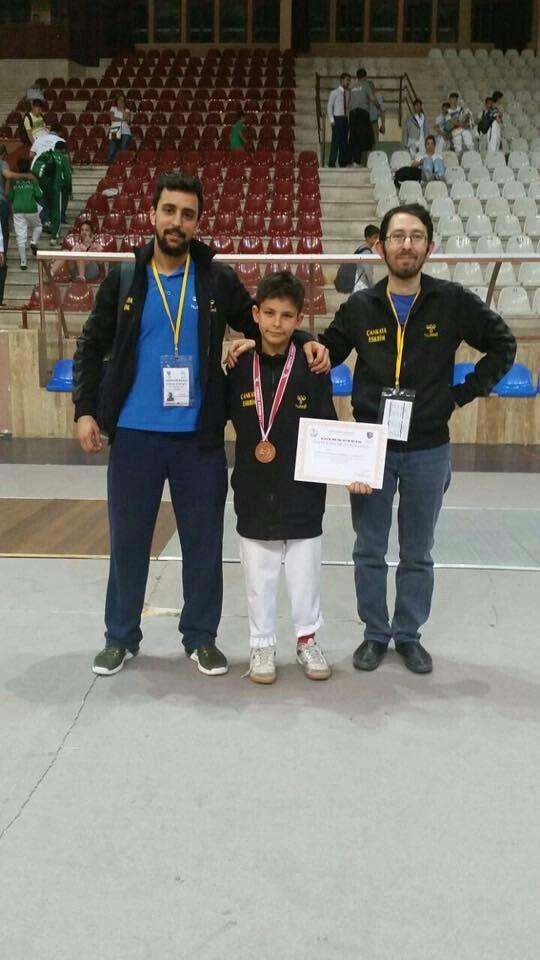 Çocuk kupası üçüncüsü Baran Cobanoglu