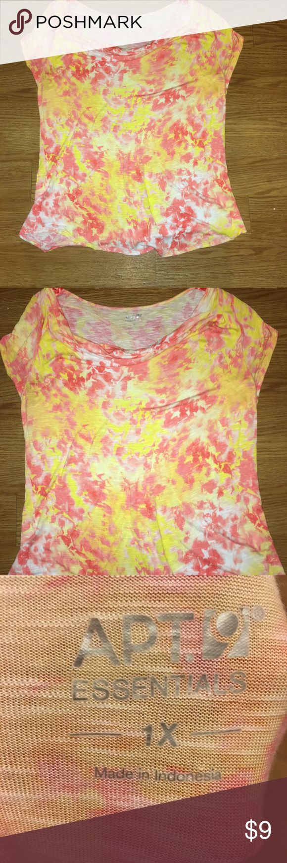 Any 2 ✅for $15 Bright Neon Top Excellent condition. No tears, stains or marks. Combine with any item with a ✅ for a $15 bundle or add three more items for 30% Off Bundles. Apt. 9 Tops Blouses
