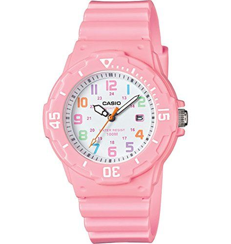 Casio-Womens-LRW-200H-4B2VCF-Dive-Style-Analog-Display-Quartz-Pink-Watch-0