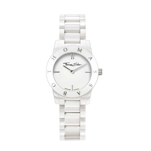 Thomas Sabo Ladies White Ceramic Watch 163 254 Watches