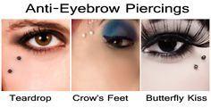 anti-eyebrow piercings