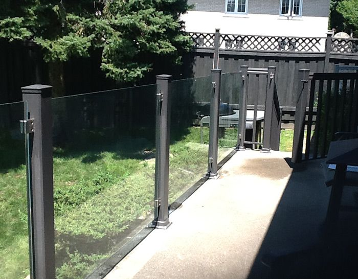 Show off the view from your home with topless glass railings from CPL Aluminum Railings & Glass.