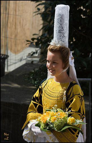 Costume bigouden traditionnel de Quimper