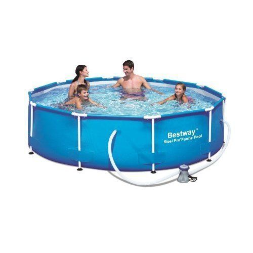 Outdoor Swimming Pool 10 x 30 Steel Frame Pool Set Family Pool Filter Pump New #OutdoorSwimmingPool