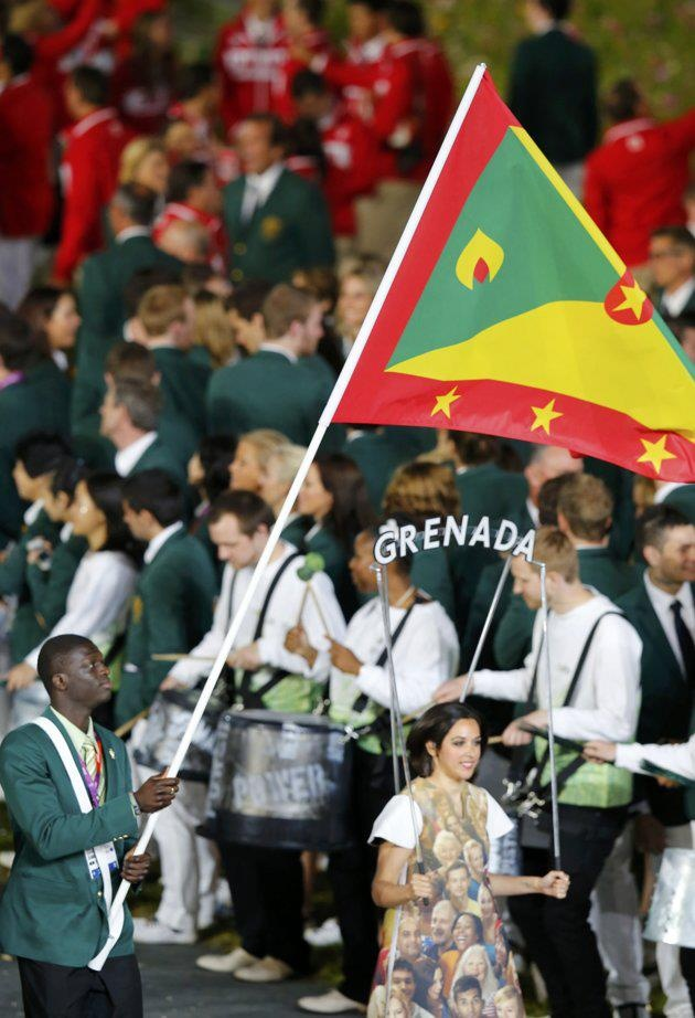 Goooooo Kirani James, we are with you, such an inspiration to all of us from Grenada & the world!