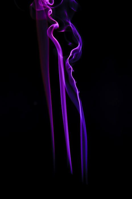 Purple smoke photography. Prints available for decoration of your home or office.