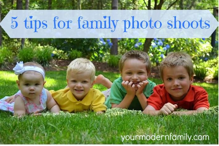 5 tips for family photo shoots  Did these over the weekend & it made all the difference!