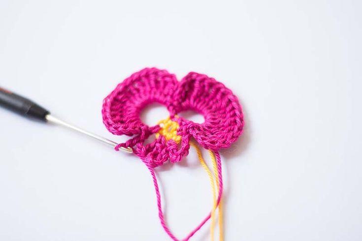 Mejores 28 imágenes de Häkelmuster en Pinterest | Punto de crochet ...