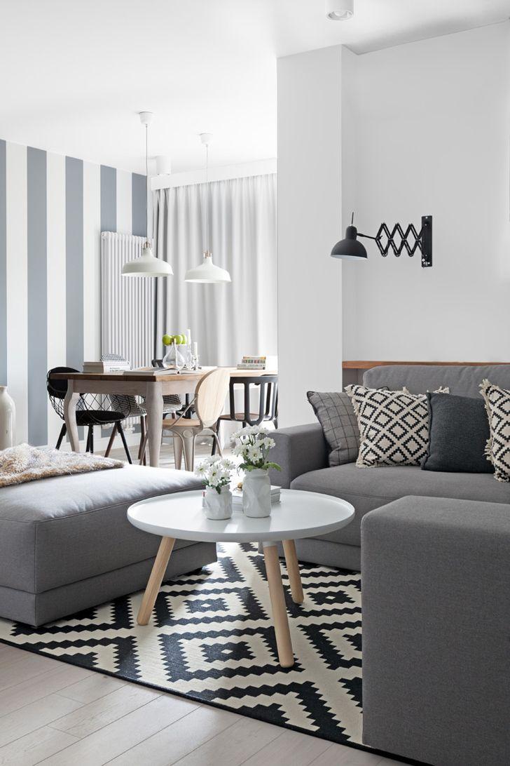 Скандинавская квартира в Варшаве (80 кв. м)   Пуфик - блог о дизайне интерьера