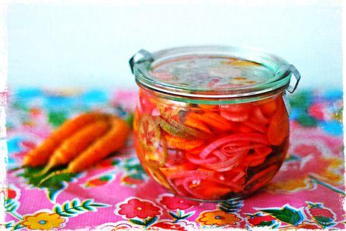 Zanahorias y Rabanos Escabeche (500 Tasty Sandwiches)