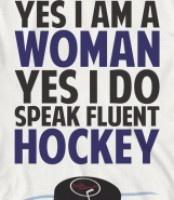 hockey woman